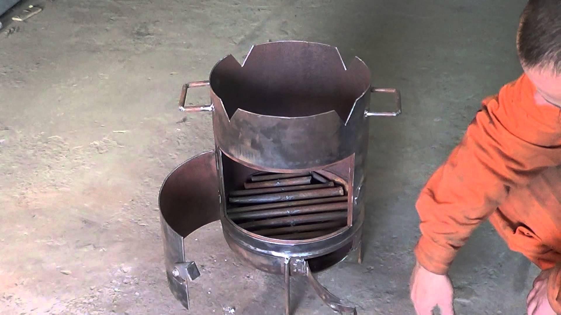 тому же, печка из газового баллона Нортекс-Дезинфектор для древесины