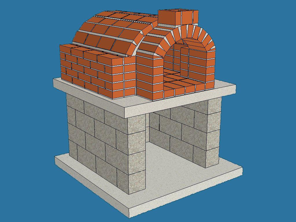 Строим печь для дома в картинках 88
