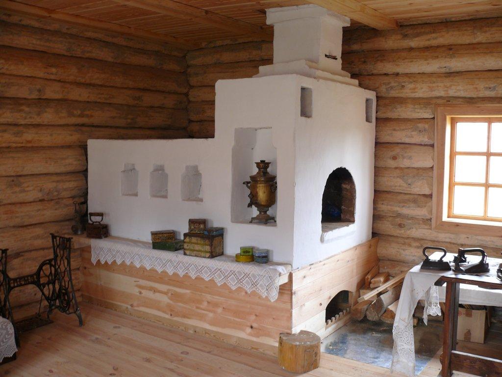 Русская печь своими руками фото
